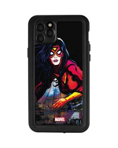 Spider-Woman Skyline iPhone 11 Pro Max Waterproof Case