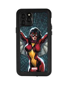 Spider-Woman Web iPhone 11 Pro Waterproof Case