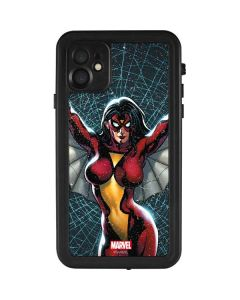 Spider-Woman Web iPhone 11 Waterproof Case