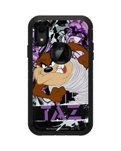 Splatter Paint Tasmanian Devil Otterbox Defender iPhone Skin