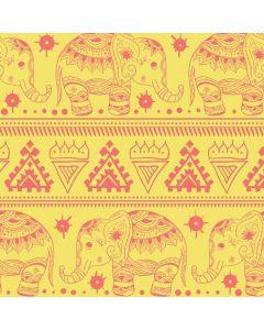 Tribal Elephant Yellow Generic Laptop Skin