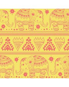 Tribal Elephant Yellow Generic Laptop Skin