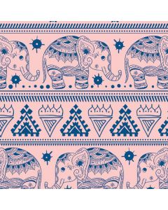 Tribal Elephant Pink Generic Laptop Skin