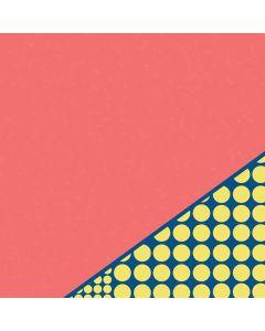 Coral Diagonal Split Surface Book 2 13.5in Skin