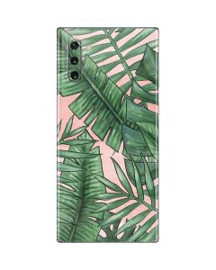 Spring Palm Leaves Galaxy Note 10 Skin
