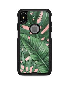 Spring Palm Leaves Otterbox Commuter iPhone Skin