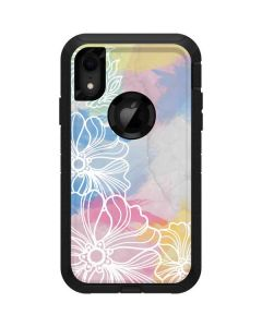 Spring Watercolors Otterbox Defender iPhone Skin
