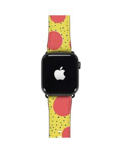 Spring Yellow Polka Dots Apple Watch Case
