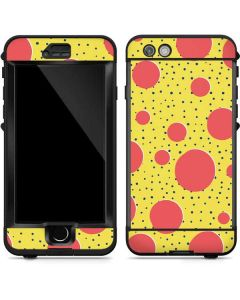 Spring Yellow Polka Dots LifeProof Nuud iPhone Skin