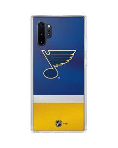 St. Louis Blues Jersey Galaxy Note 10 Plus Clear Case