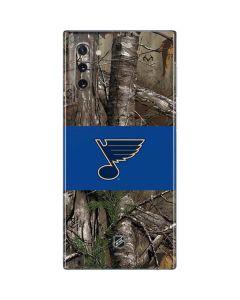 St. Louis Blues Realtree Xtra Camo Galaxy Note 10 Skin