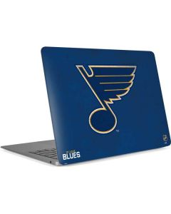 St. Louis Blues Distressed Apple MacBook Air Skin