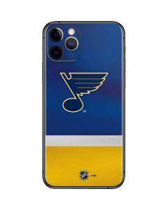 St. Louis Blues Jersey iPhone 11 Pro Skin
