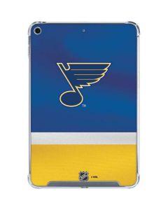 St. Louis Blues Jersey iPad Mini 5 (2019) Clear Case
