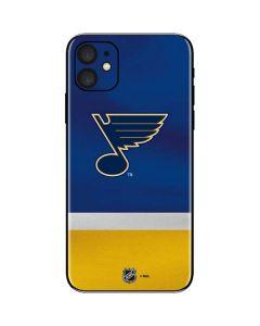 St. Louis Blues Jersey iPhone 11 Skin