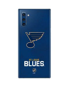 St. Louis Blues Distressed Galaxy Note 10 Skin
