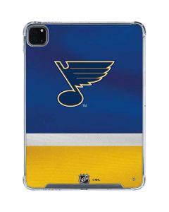 St. Louis Blues Jersey iPad Pro 11in (2020) Clear Case