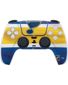 St. Louis Blues Jersey PS5 Controller Skin