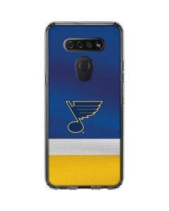 St. Louis Blues Jersey LG K51/Q51 Clear Case