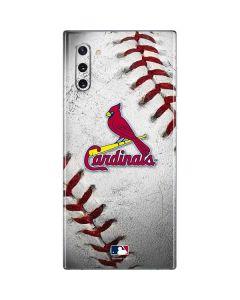 St. Louis Cardinals Game Ball Galaxy Note 10 Skin
