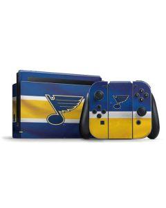St. Louis Blues Jersey Nintendo Switch Bundle Skin