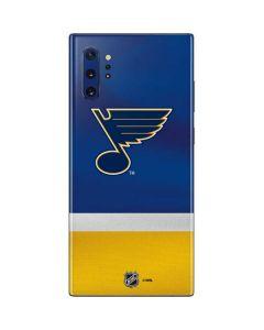 St. Louis Blues Jersey Galaxy Note 10 Plus Skin