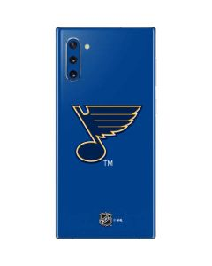 St. Louis Blues Solid Background Galaxy Note 10 Skin