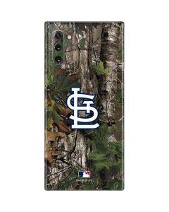 St. Louis Cardinals Realtree Xtra Green Camo Galaxy Note 10 Skin