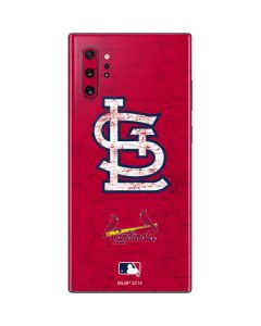 St. Louis Cardinals - Solid Distressed Galaxy Note 10 Plus Skin