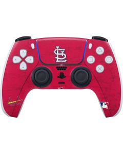 St. Louis Cardinals - Solid Distressed PS5 Controller Skin