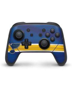 St. Louis Blues Jersey Nintendo Switch Pro Controller Skin