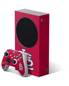 St. Louis Cardinals - Solid Distressed Xbox Series S Bundle Skin