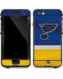 St. Louis Blues Jersey LifeProof Nuud iPhone Skin