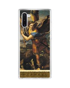 St. Michael Overcoming the Demon Galaxy Note 10 Clear Case