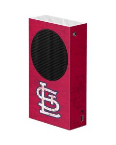 St. Louis Cardinals - Solid Distressed Xbox Series S Console Skin