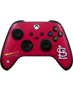 St. Louis Cardinals - Solid Distressed Xbox Series X Controller Skin