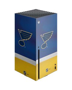St. Louis Blues Jersey Xbox Series X Console Skin