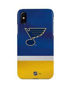 St. Louis Blues Jersey iPhone XS Max Lite Case