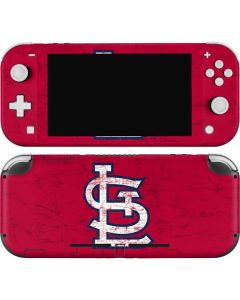 St. Louis Cardinals - Solid Distressed Nintendo Switch Lite Skin