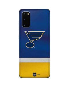 St. Louis Blues Jersey Galaxy S20 Skin