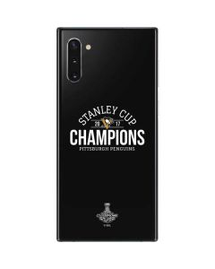 Stanley Cup Champions Pittsburgh Penguins Galaxy Note 10 Skin