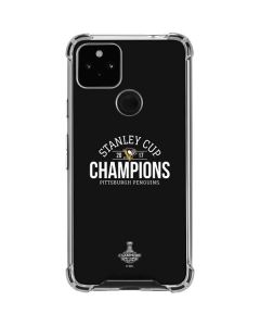 Stanley Cup Champions Pittsburgh Penguins Google Pixel 4a 5G Clear Case