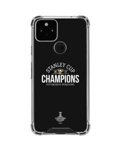 Stanley Cup Champions Pittsburgh Penguins Google Pixel 5 Clear Case
