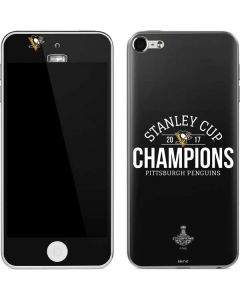 Stanley Cup Champions Pittsburgh Penguins Apple iPod Skin