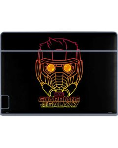 Star-Lord Outline Galaxy Book Keyboard Folio 12in Skin