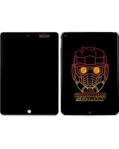 Star-Lord Outline Apple iPad Skin