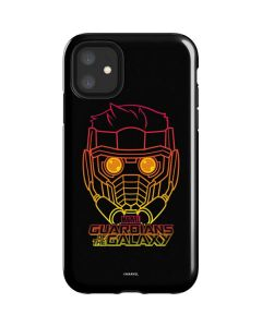 Star-Lord Outline iPhone 11 Impact Case