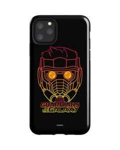 Star-Lord Outline iPhone 11 Pro Max Impact Case