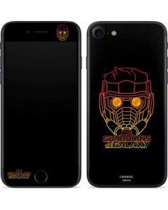 Star-Lord Outline iPhone SE Skin