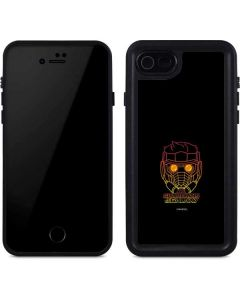 Star-Lord Outline iPhone SE Waterproof Case